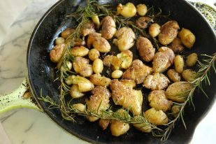 rosemary smashed potatoes