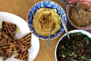 charred baba ganoush
