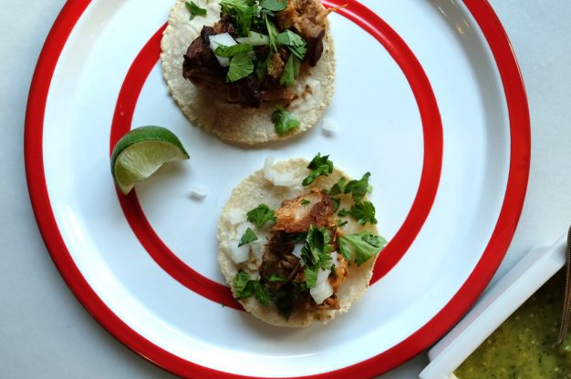 Slow Cooker Carnitas Tacos (6 hours)